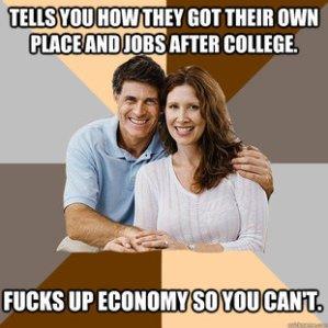 Hypocrites, hypocrites everywhere.