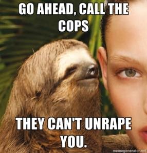 Bad Sloth!