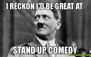 HDM4: Silly Hitler, stand up is for the Jews!